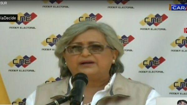 Venezuela elecciones 2018| CNE aseguró que las denuncias han sido atendidas a tiempo