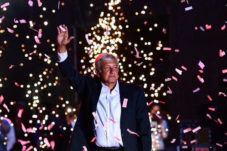 Candidatos presidenciales cierran campañas electorales en México