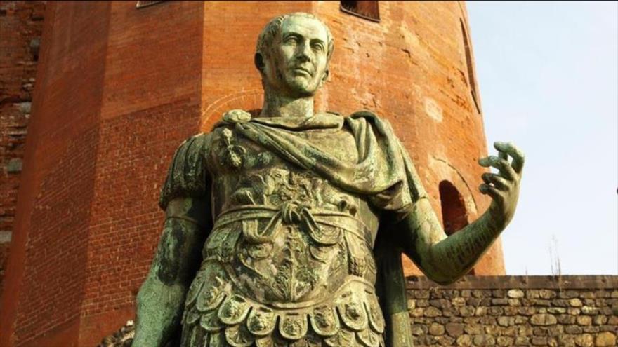 Arqueólogos revelan en 3D los rasgos del emperador romano Julio César