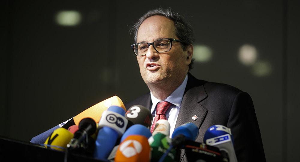 Gobierno de Catalán convoca al rey a una nueva etapa de diálogo