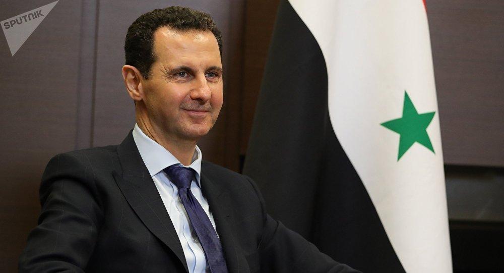 Presidente Bashar al-Ásad: «Cualquier país, Siria, Bielorrusia tiene sus problemas. ¿Tiene Occidente el derecho a intervenir? A esto nos tenemos que oponer»
