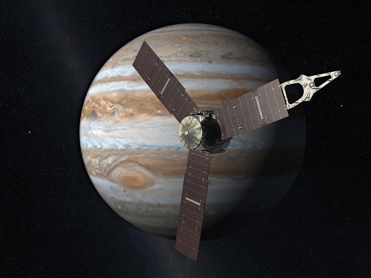 La NASA prorroga misión de su sonda Juno en Júpiter