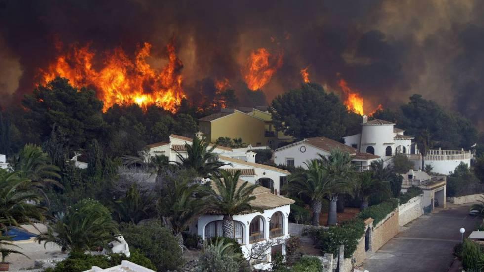 En España la prevención de incendios forestales no es una prioridad