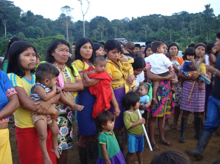 Poblaciones indígenas buscan refugio en la ciudad de Medellín