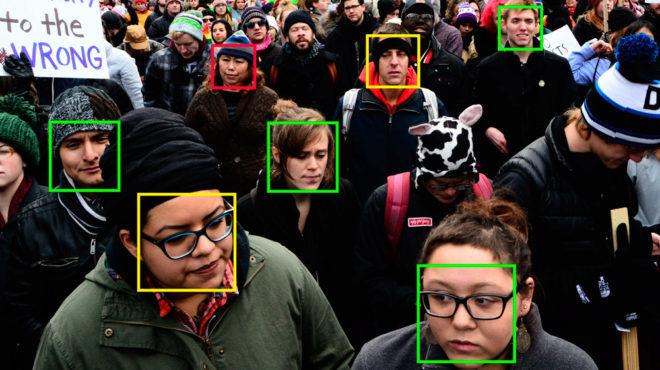 Amazon vende a Trump tecnología de reconocimiento facial