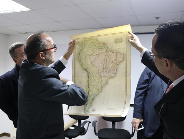 Mapas auténticos del Esequibo regresaron a Venezuela