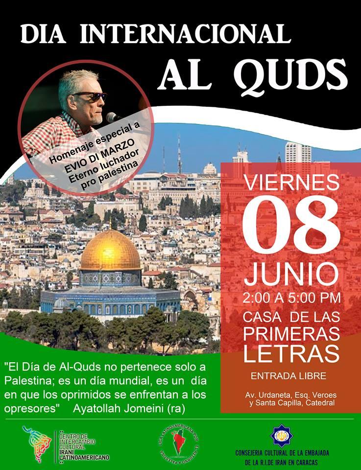 ¡Día de Al Quds en concierto! por la causa Palestina