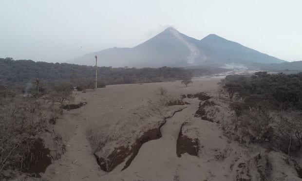 Mínimas esperanzas de conseguir más sobrevivientes del Volcán de Fuego