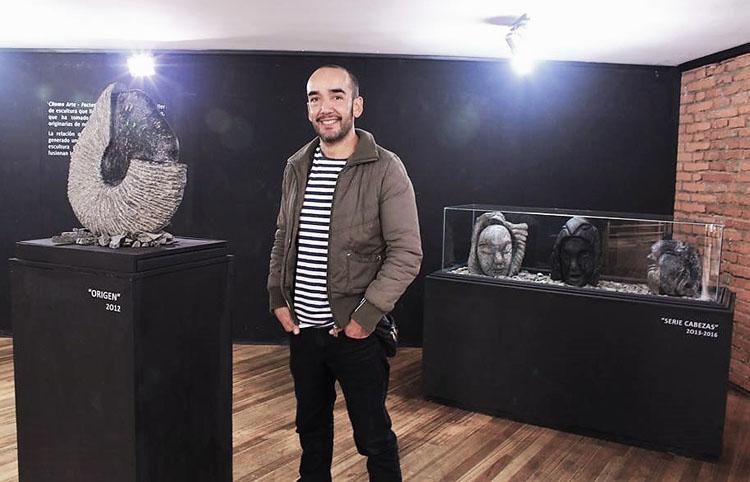 Christian Romo, la gran promesa de la nueva camada de escultores porteños