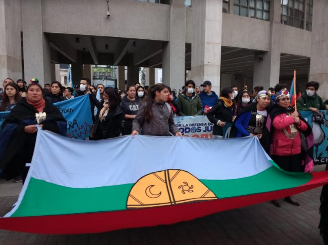 Asociación Mapuche Lafkenche rechaza proceso de consulta del proyecto Terminal GNL Penco-Lirquén