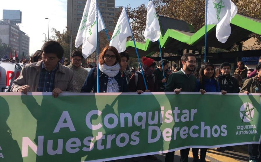 """La autocrítica de Izquierda Autónoma: """"Nos hemos dejado llevar por la forma de hacer oposición de la Nueva Mayoría"""""""