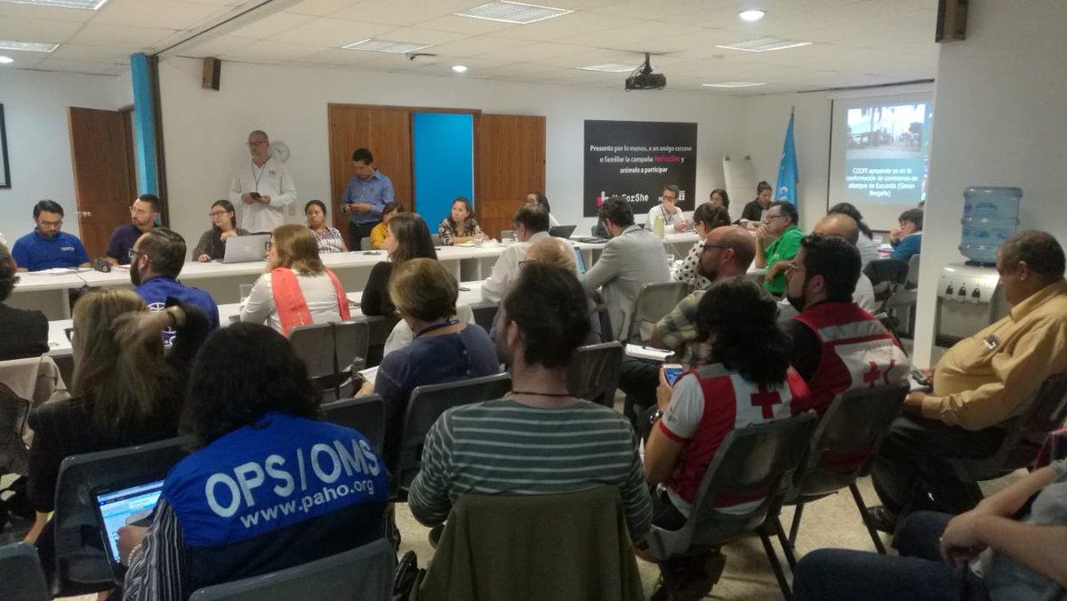 Guatemala coordina llegada de ayudas internacionales