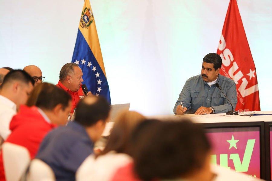 Máximo esfuerzo, rendimiento y unidad pidió Nicolás Maduro a militancia del PSUV