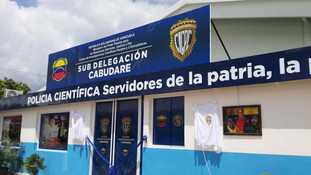 Inaugurada Sub-Delegación del CICPC en Cabudare estado Lara – Venezuela
