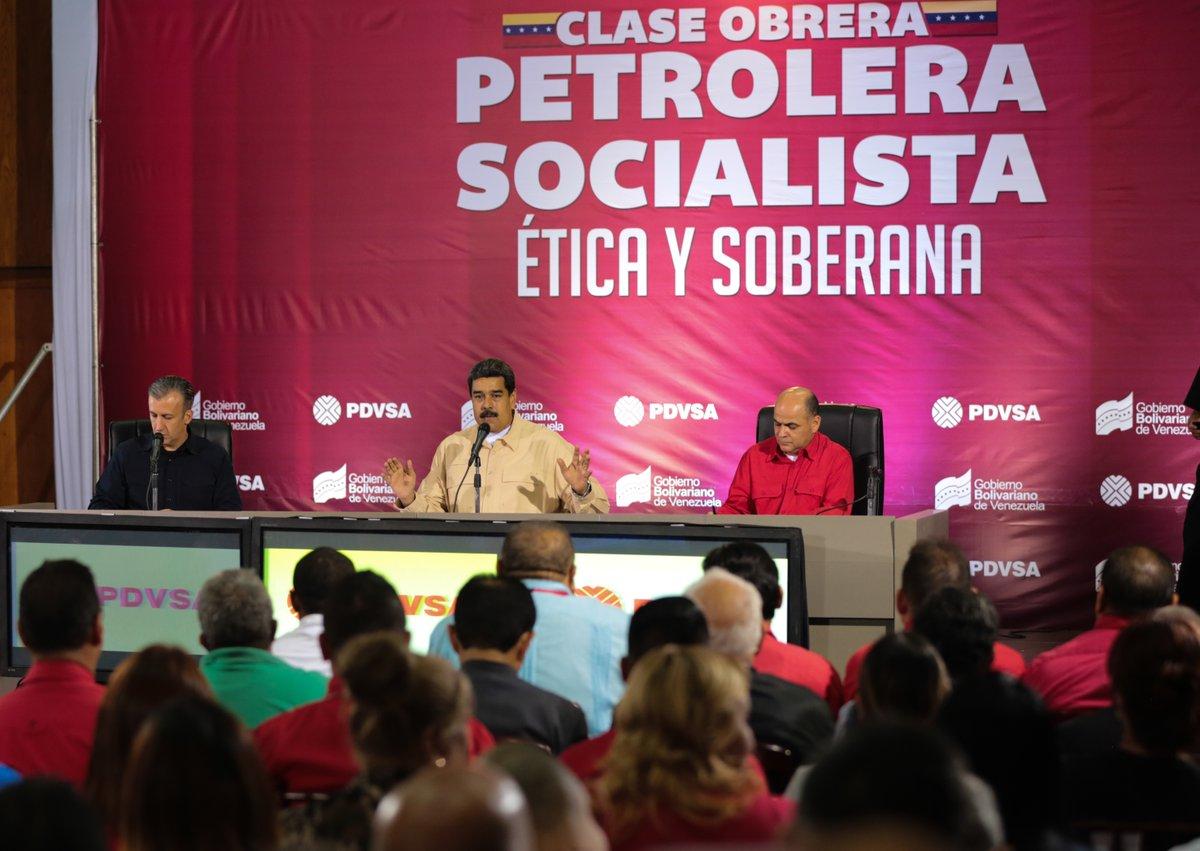 Presidente Maduro pidió «extirpar de raíz el mal de la corrupción en PDVSA»