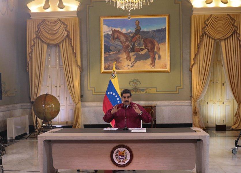 Maduro reitera disposición al diálogo con actores de la MUD