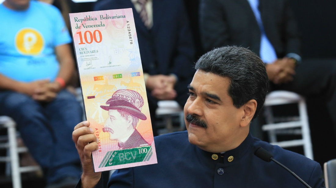 Reconversión monetaria en Venezuela busca fortalecer el bolívar