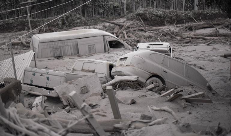 """Declaran """"zona inhabitable"""" comunidad arrasada por el Volcán de Fuego en Guatemala"""