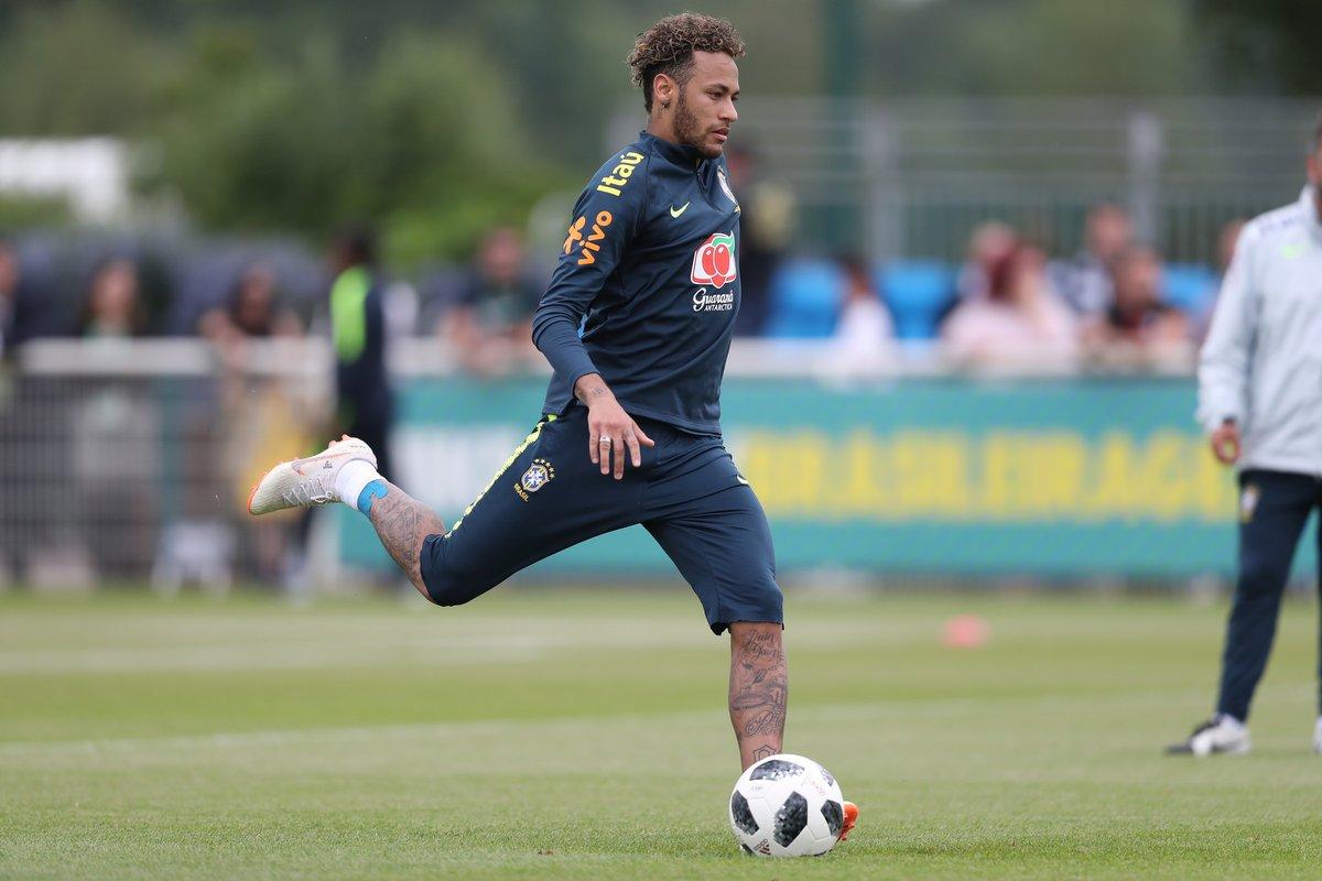 Neymar es la figura de Brasil