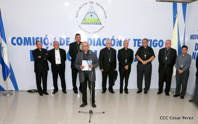 Iglesia entregó propuestas para la búsqueda de la paz en Nicaragua