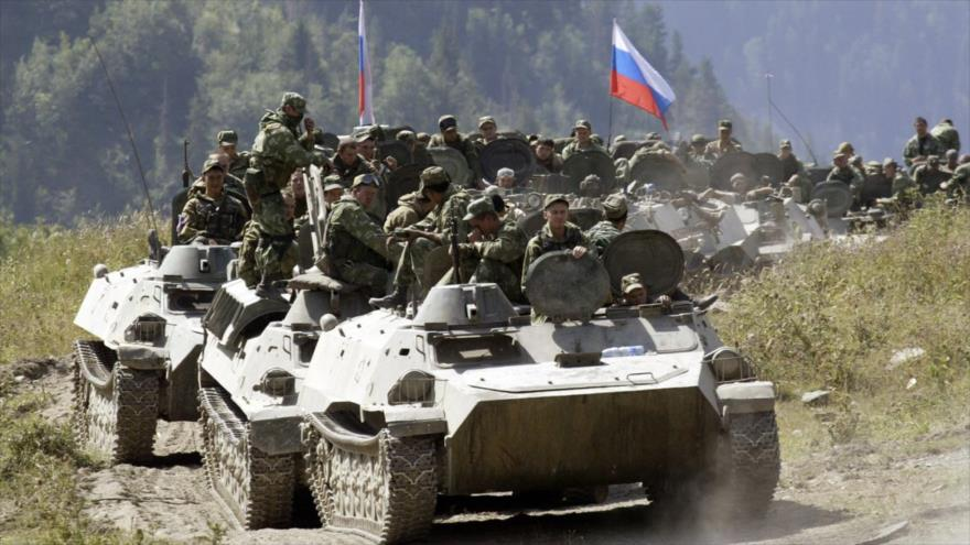 Tropas rusas salen del territorio sirio