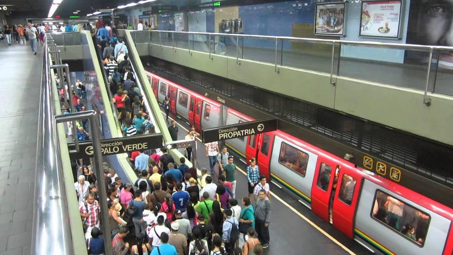 El servicio del subterráneo de Venezuela se presta de forma gratuita