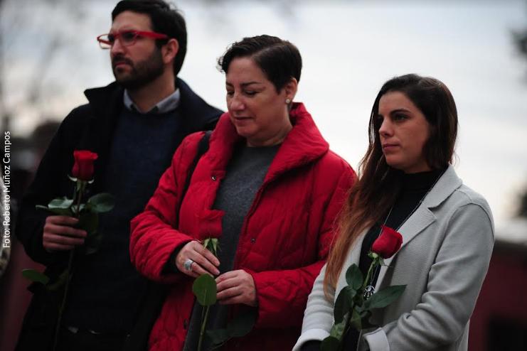 """Beatriz Sánchez visita Villa Grimaldi: """"En Chile se sigue torturando en democracia"""""""