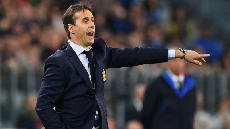 Julen Lopetegui es el nuevo técnico del Real Madrid