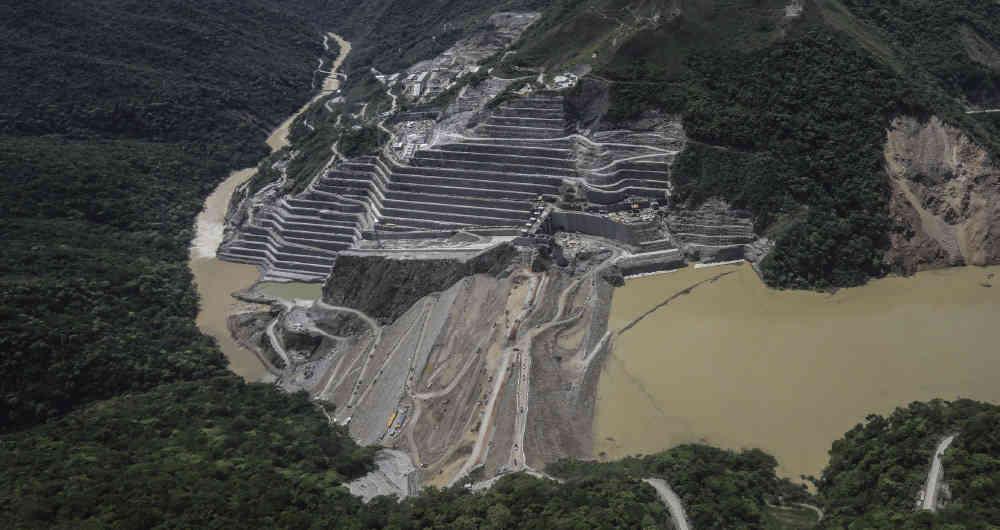 Cuatro localidades colombianas  podrían ser arrasadas por  la represa Hidroituango