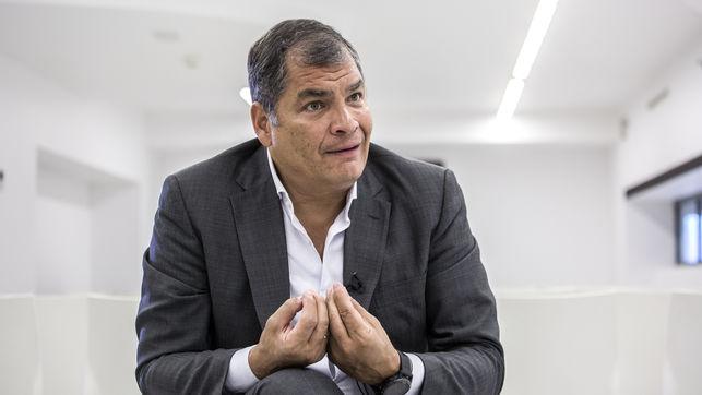 """Correa: la derecha """"judicializa"""" para impedir retorno de gobiernos progresistas"""