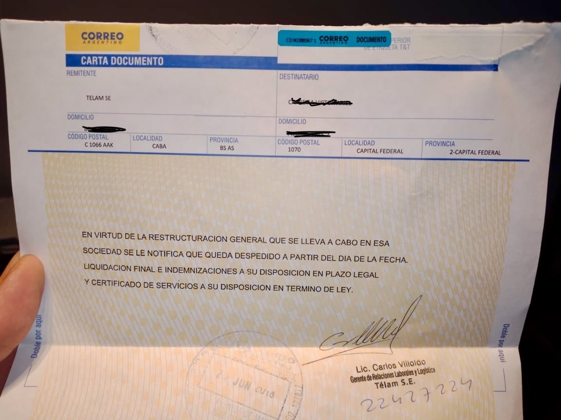 Macri ejecuta despidos masivos en Télam, la agencia oficial de noticias