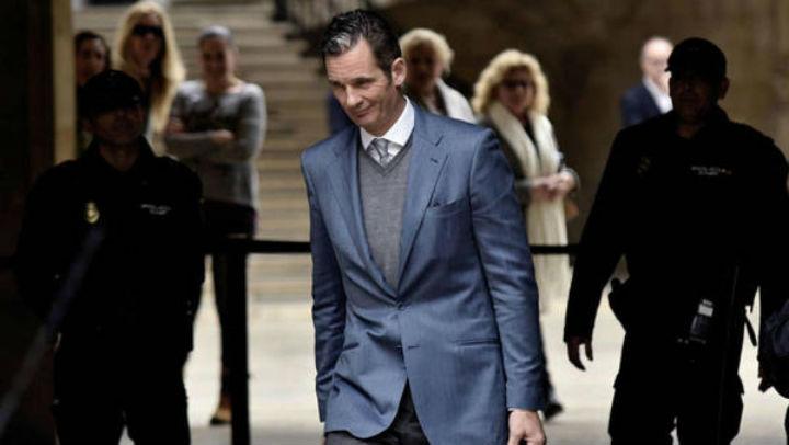 Entra a prisión el cuñado del rey de España