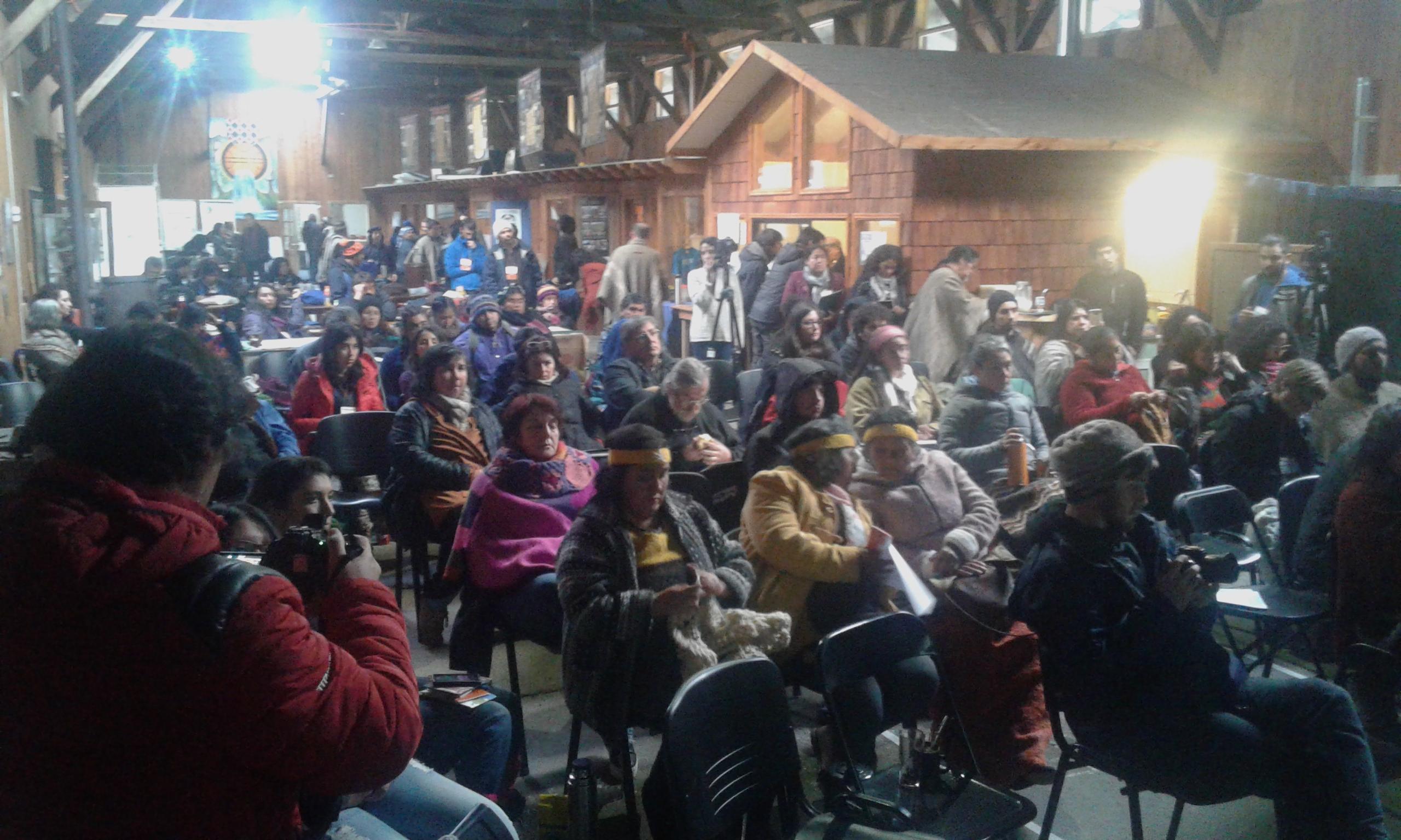 """Organizaciones difunden declaración tras encuentro cumbre """"Wallmapu Patagonia"""""""