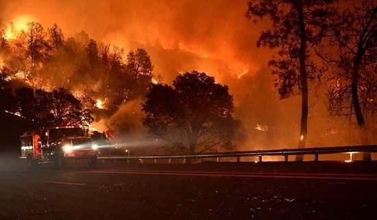 Incendio forestal en EEUU se extiende a más de 6.600 hectáreas