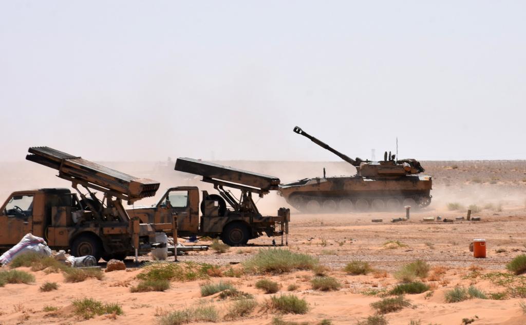 Ejército sirio lanzó ofensiva militar contra el DAESH al sur de su territorio