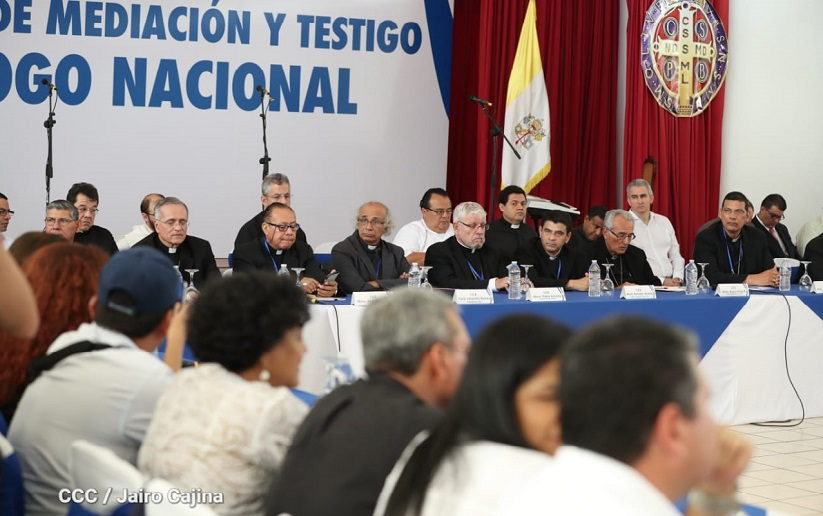 Este viernes Gobierno y oposición buscan la paz para Nicaragua