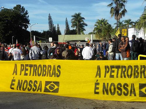 """""""No basta con cambiar de nombre, es necesario una Petrobras al servicio del pueblo"""""""