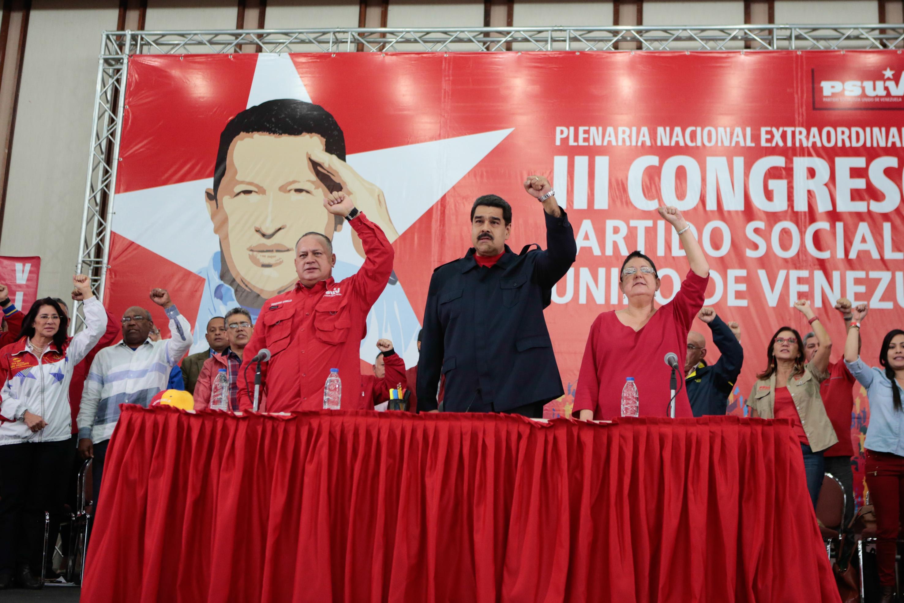 El Congreso del PSUV es un espacio para el debate y la elaboración de propuestas
