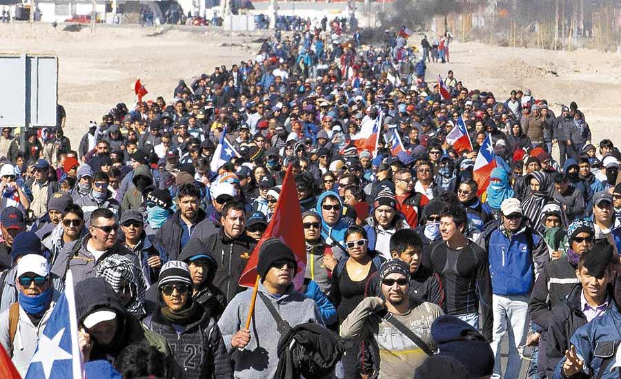 Sindicatos de Chuquicamata anuncian paro con un 95 por ciento de adhesión