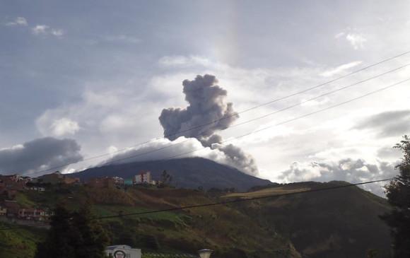 Dos personas fallecieron por dos sismos ocurridos en el Volcán Galeras