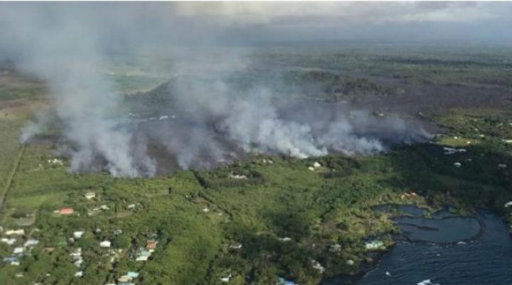 Hawái: Nueva explosión del volcán Kilaeua provoca sismo 5,2 grados