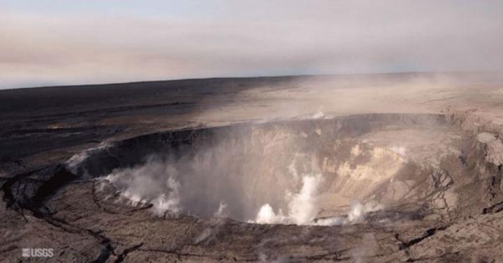 Los dramáticos cambios del volcán Kilauea tras erupción (+video, fotos)