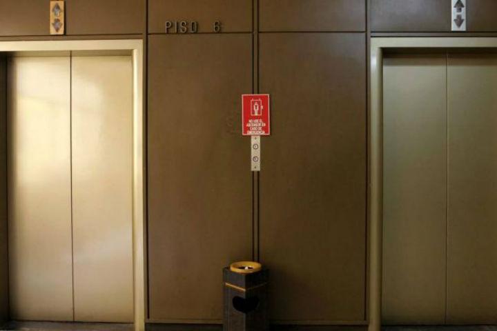 Un vehículo chino puede detectar emergencias en ascensores