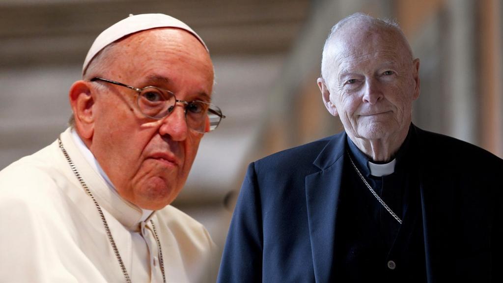 El Papa acepta renuncia del Cardenal de EE. UU. acusado de abusos sexuales