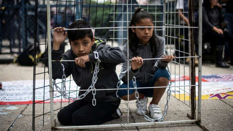 Piden a ONU, UNICEF, Amnistía Internacional abogar por niños detenidos en EE.UU.