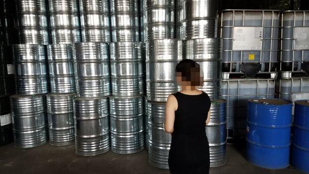 Sector construcción en China involucrado en uso de gas prohibido
