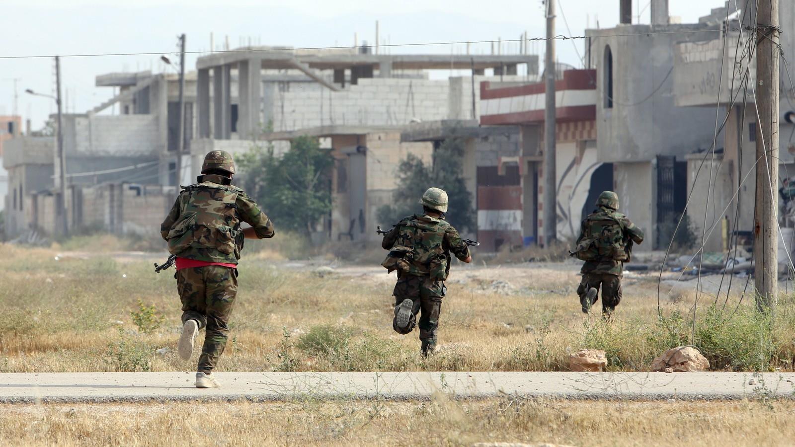 Ejército sirio sigue retomando el control en la zona sur fronteriza con Jordania