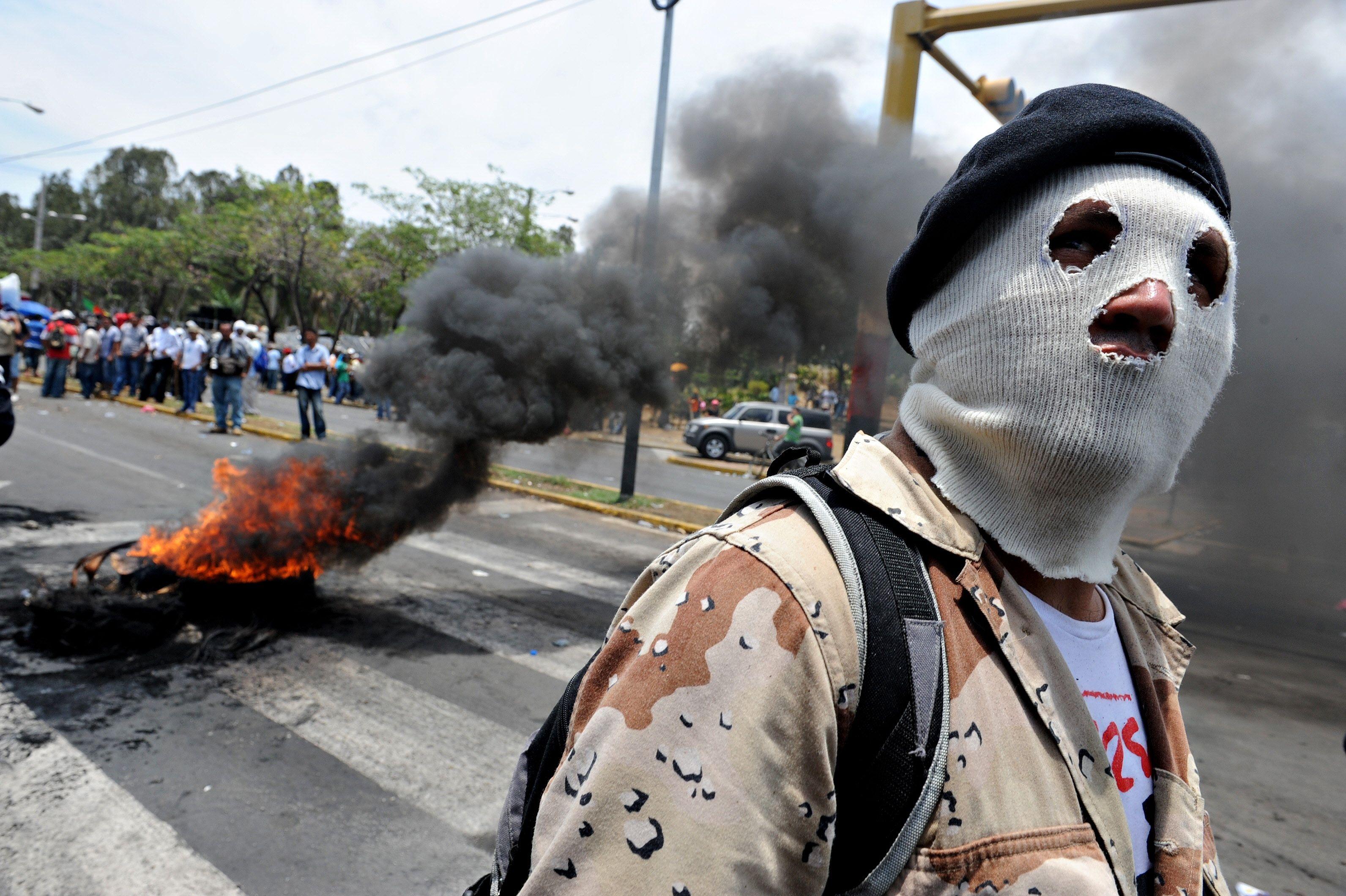 Trump reconoció su apoyo financiero a la violencia en Nicaragua