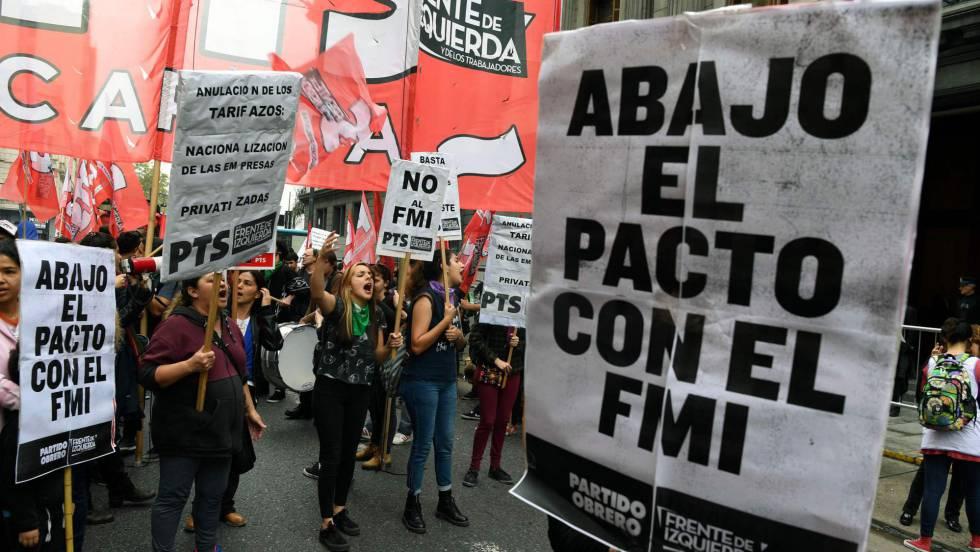 Argentinos conmemorarán Día de la Independencia con marcha contra el FMI