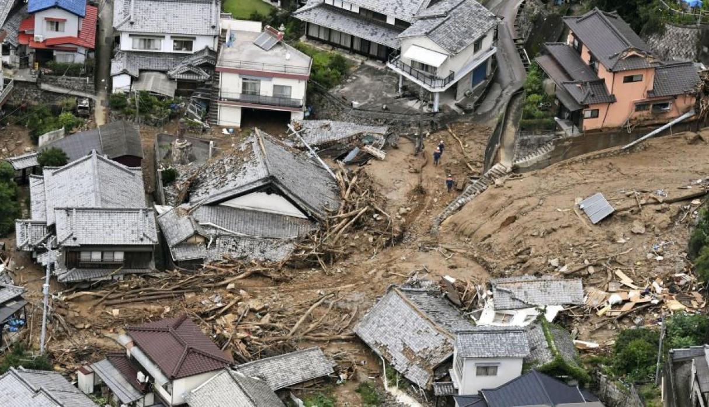 179 muertos y más de 50 desaparecidos dejan inundaciones en Japón